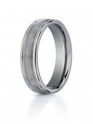 Men\'s 6mm Comfort Fit Tungsten Wedding Band