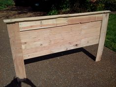 Headboard from pallets  - The UP Project