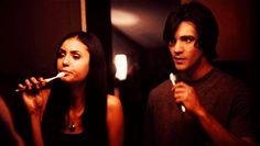 Elena & Jeremy Gilbert The Vampire Diaries. Loved watching Jeremy in vampire diaries. Please check out my website thanks. www.photopix.co.nz