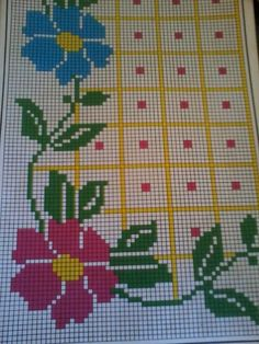52 ideas for sewing logo design cross stitch Cross Stitch Borders, Cross Stitch Flowers, Cross Stitch Designs, Cross Stitching, Cross Stitch Patterns, Palestinian Embroidery, Hand Embroidery Flowers, Needlework, Sewing Projects