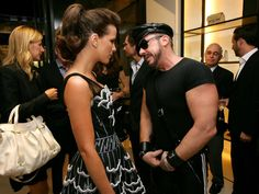 From Heritage to traditional @zegnaofficial unveils Milan Couture Room-Kate Beckinsaleand Peter Marino_CHANEL party