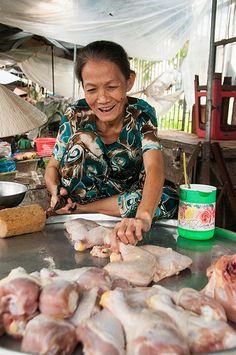 Market, Mekong Delta, Vietnam