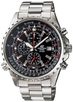 Casio General Mens Watches Edifice Chronograph EF-527D-1AVDF - WW: Watches: Amazon.com