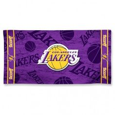 Los Angeles Lakers Beach Towel - New Style