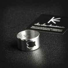 """Special Edition Stainless Steel Ring """"Fishy"""" by Cheche Handmade cheche. Stainless Steel Rings, Jewelry Branding, Handcrafted Jewelry, Jewerly, Rings For Men, Brooch, Bracelets, Earrings, Gifts"""