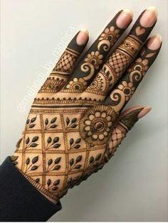 Mehandi Designs, Indian Henna Designs, Modern Mehndi Designs, Beautiful Henna Designs, Latest Mehndi Designs, Mehndi Designs For Hands, Henna Tattoo Designs, Art Designs, Henna Tattoo Hand