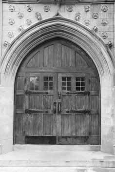 ancient and barn-like styled door at University of Richmond Richmond Spiders, University Of Richmond, Old Dominion, Richmond Virginia, Gothic Architecture, My Happy Place, Vacation Spots, Gates, Places To Go