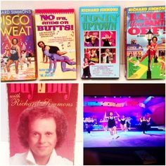 Richard Simmons Tonin Disco Pants Butts Day by Day VHS Lot 5 Exercise Weight