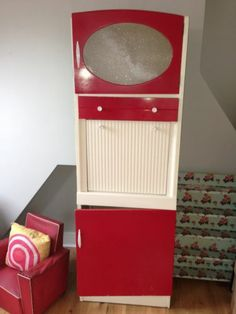Vintage retro 1960s freestanding kitchenette larder cabinet / cupboard / unit