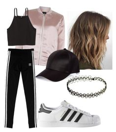 """1million Dance Studio"" by pandagirl2102 ❤ liked on Polyvore featuring New Look, adidas Originals, adidas and River Island"
