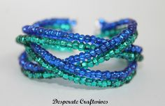 Desperate Craftwives: Braided Memory Wire Bracelet