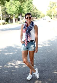 Sporty Summer Time Fashion.