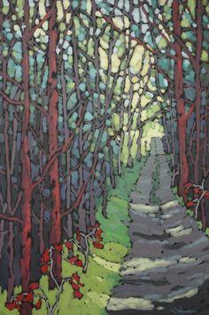 """Long Forest Road"" by Jennifer Woodburn"