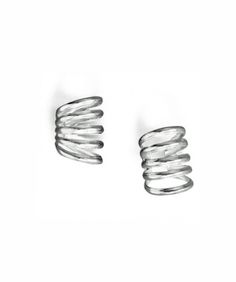 5 Row Silver Polished Ear Cuffs- It will make you look modern and stylish, or it can be the perfect present for the people you care about.