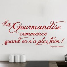 1000 images about phrases cuisine on pinterest cuisine - Stickers pour cuisine rouge ...