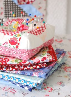 Don't you just love cute little pincushions? I think they're so fun to make up and you can never have enough cute places to hold your pins and needles. They make such great gifts too! Today I've rounded up some of my favorite pincushions to show off – I have...