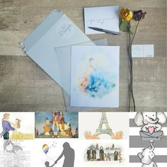 { BEFORE YOU BUY }  This listing is for a Physical Art Print/Gift Package. If you would like to customize a print and have me email the files to you, please visit the 'Custom Designs' section. I also offer instant printables for all my prints. To see all of my printable listings, please vis