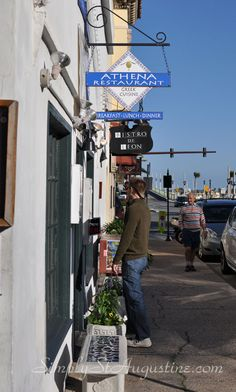 St. Augustine Greek Restaurant- Athena Cafe