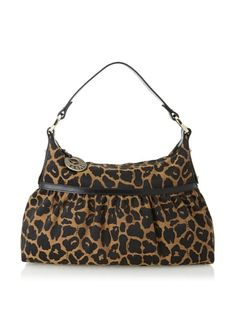 36% OFF FENDI Women's Large Cheetah Satchel (Brown/Black)
