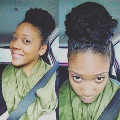 Natural Hair @iamnaturallyshe