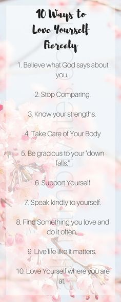 10 Ways to Love Yourself Fiercely; Self Care; Self Esteem; Learning To Love Yourself, Love Yourself Quotes, How To Love Yourself, How To Self Love, Take Care Of Your Body, Learn To Love, Self Confidence, Self Esteem, Self Improvement