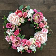 THANK YOU! For visiting Branch and Bloom! I truly love creating beautiful wreaths with quality to last season after season for you! I use only realistic high quality silks and believe in creating something you will love! The wreath pictured about is made on an 18 inch grapevine based and