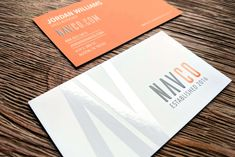 Velvet laminated business card with Spot UV printed on both sides. Business card designed in-house fro NAVCO.