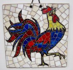 Ralph Ott: Mosaics: 102. Rooster 2