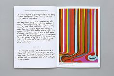 Issue 1 of The-Art-Form - a limited edition publication about art and artists. Featuring Ian Davenport, Peter Liversidge, Rana Begum, Dan Baldwin, Michael Reisch and Paul Insect. More info here: www.the-art-form.com