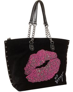 Handbags - Shop Women's Purses & Designer Handbags from Betsey Johnon Cheap Purses, Cute Purses, Cheap Handbags, Purses And Handbags, Popular Handbags, Black Handbags, Betsy Johnson Purses, Betsey Johnson Handbags, Betsey Johnson Dresses