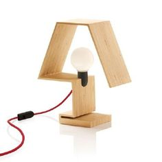 lamparas de madera reciclada - Buscar con Google