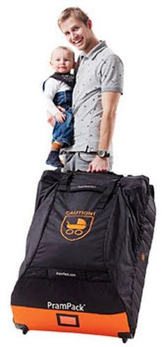 Stokke® PramPack™: The travel bag that protects your baby stroller
