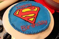 Sometimes I Make Cakes: Superman Buttercream Transfer
