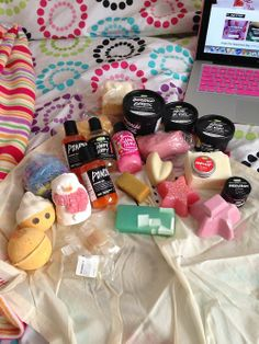 Lush products!