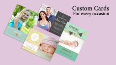 Personalized photo cards for every occasion; from birth announcements to graduation congratulations, Christmas cards to Mother's Day and Father's Day wishes. Print Your Photos, Great Photos, Fathers Day Wishes, Personalised Photo Cards, Order Photos, Congratulations Graduate, Birth Announcements, Custom Cards, Online Gifts