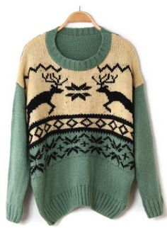 Cozy Christmas Sweater. So cute!
