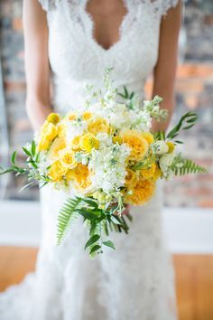yellow wedding flower bouquet bridal bouquet yellow wedding