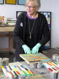 A visit to Kathleen Waterloo's studio in Chicago, IL 2012