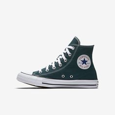 CONVERSE CHUCK TAYLOR ALL STAR SEASONAL HIGH TOP | The Converse Chuck Taylor All Star is the one you know and love — canvas, iconic star patch, rubber soles — but these seasonal, limited-run fall colorways are fresh; here right now and not for long. These don't come in every color; they come in your color.
