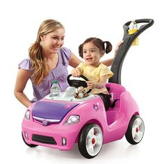 """Step2 Whisper Ride 2 Buggy - Pink - Step2 - Toys """"R"""" Us"""