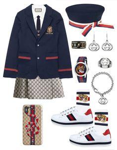 wholesale dealer 404f8 89e2a Preppy Outfits, Chic Outfits, Koreanskt Mode, Tjejmode, Hörnskåp Garderob,  Matchande Outfits