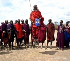 """Years ago we gifted a rural Maasai community with a Lifeline radio. In appreciation, they responded with the adamu, or """"jumping dance"""". It appears deceptively easy, but when it's your turn, you realise that it's much harder than it looks! Solar Energy, Solar Power, Clean Technology, Education For All, Your Turn, Kenya, Appreciation, African, Community"""