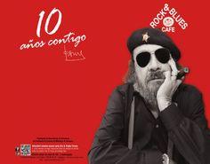 10 años de Rock&Blues | TotOci Zaragoza Movie Posters, Movies, Zaragoza, Fiestas, Film Poster, Films, Movie, Film, Movie Theater