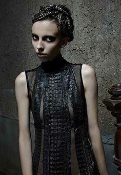 Giger-inspired dress...