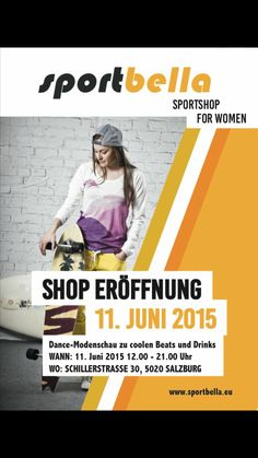 Shop Opening on June Sport, June, News, Shopping, Fashion Show, Sports