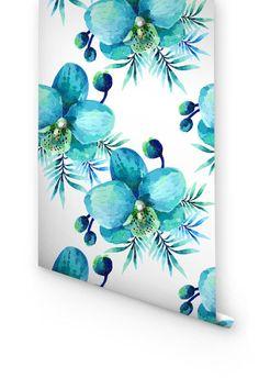 BLUE ORCHID WALLPAPER