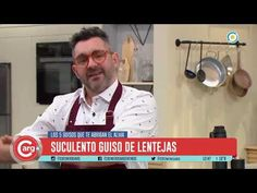 GUISO DE LENTEJAS - YouTube Youtube, Sunflower Oil, Recipes, Healthy Food, Grandmothers, Meals, Youtubers