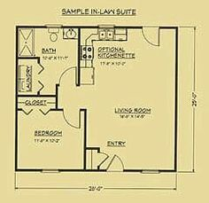 mother in law house plans nursery or mother-in-law plan as well. Mother-in-law guest house plans . Guest House Plans, Cabin Floor Plans, Small House Plans, Guest Houses, The Plan, How To Plan, Granny Pods, In Law House, Cottage Plan