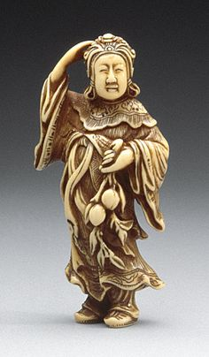 Seiobo: Queen Mother of the West  Sanko, late 18th century