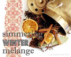 I need to make this potpourri for the upcoming holidays! Christmas Love, Christmas Wishes, All Things Christmas, Christmas Holidays, Christmas Crafts, Christmas Ideas, Homemade Potpourri, Simmering Potpourri, Homemade Gifts